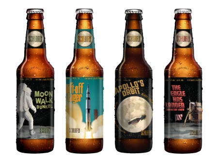 Schlafly Beer Launches Lunar Lager Pack to Commemorate Apollo 11 Moon Landing
