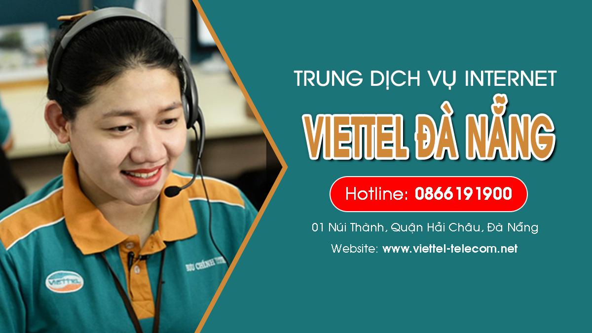 Viettel Đà Nẵng - Tổng đài lắp mạng Internet và Truyền hình ViettelTV