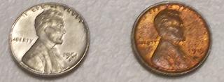 Aluminum Wheat Penny