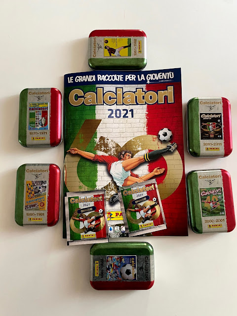 figurine panini tin box e album
