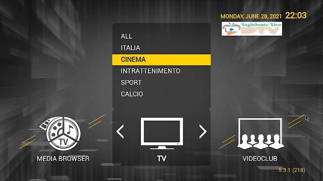 IPTV STB Smart portal iptv