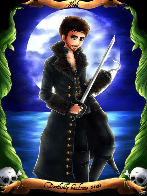 Devilishly handsome pirate - Un pirate diaboliquement beau