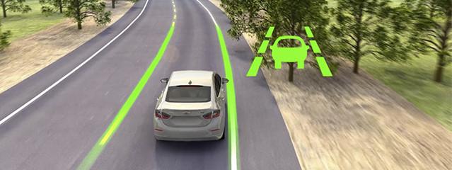 teknologi lane trafic assist