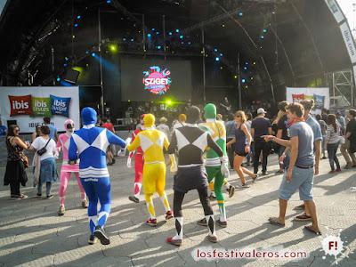 Power Rangers, Sziget 2016