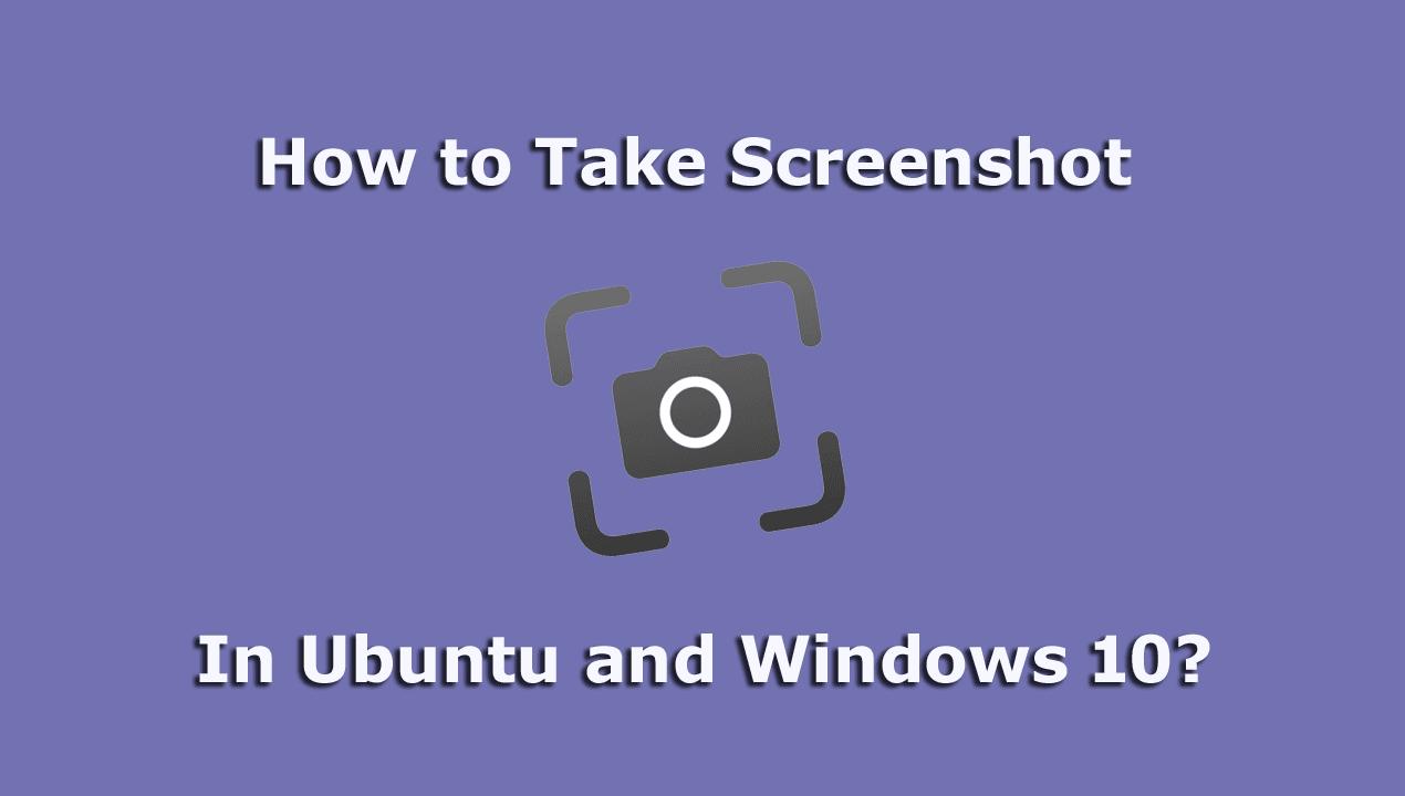 Taking Screenshot Image