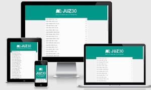 Aplikasi Juz'Amma berbasis Website