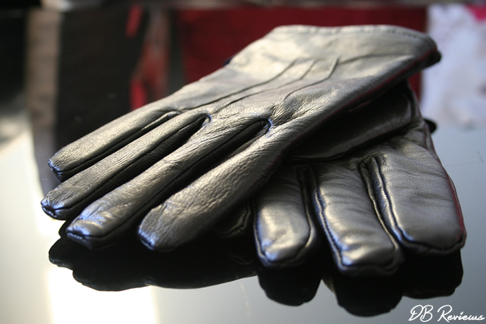 Men's Heat Holders Leather Gloves