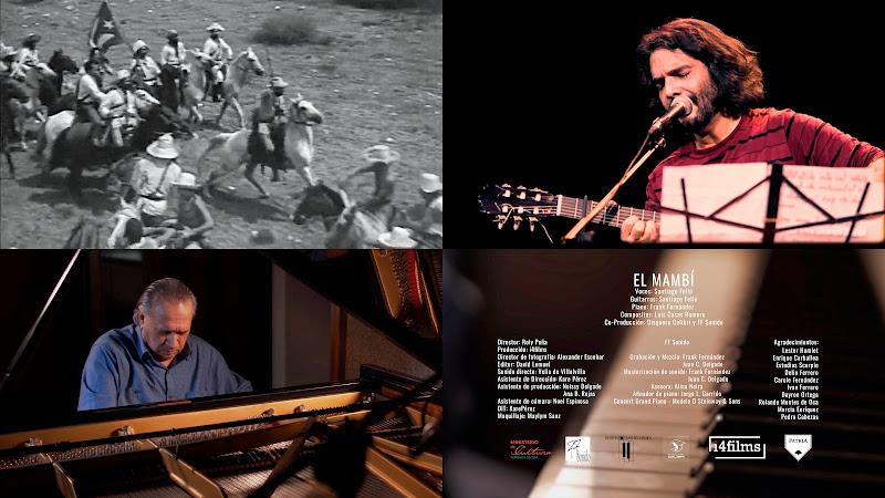 Santiago Feliú & Frank Fernández - ¨El Mambí¨ - Videoclip - Director: Roly Peña. Portal Del Vídeo Clip Cubano. Música cubana. Cuba.