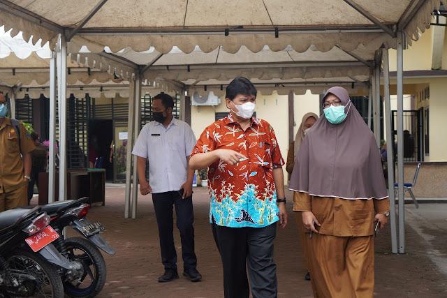 Kunker ke Dinas Kesehatan Kota Tebingtinggi, Binsar Situmorang : Penetapan PPKM Berdasarkan Data Harian Yang Diberikan Satgas Covid-19