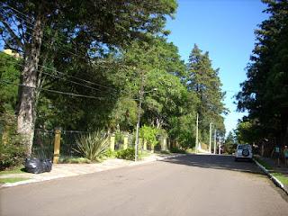 Rua e bairro - Apartamento aluguel Temporada Gramado