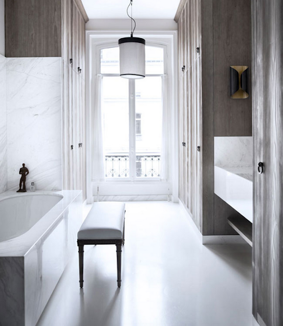 Gilles & Boissier design bathroom via belle vivir blog