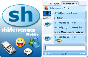 Download Apliksi Chatting shMessenger Yang Irit Pulsa