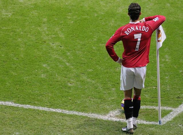 Cristiano Ronaldo at Old Trafford