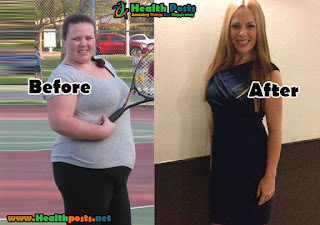 Shanna Fichera, 31 years old  LOSS OF TOTAL WEIGHT: 55 kgs