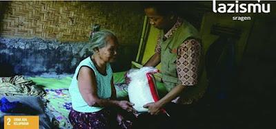 Meski Istri Lumpuh, Tukang Becak di Sragen Masih Setia Merawat Istrinya