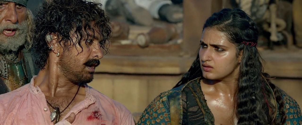 Download Thugs of Hindostan (2018) Hindi Movie WEB - DL