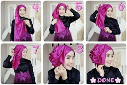 39 Tutorial Hijab Pesta Kondangan Modern Terbaru 2019