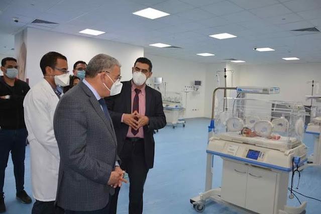 محافظ المنيا يتابع الخدمة الصحية بعدد من المستشفيات بمركز سمالوط