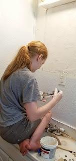 refabulous bathroom refresh DIY