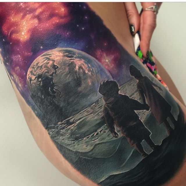 83+ Best Earth Tattoo Designs For Men Tattoos Designs