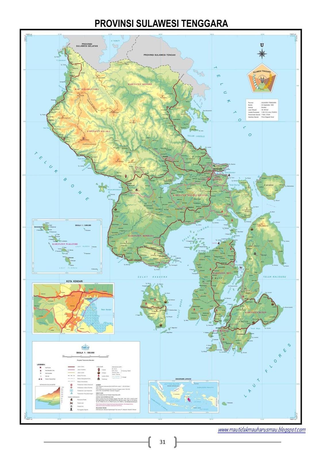 Peta 34 Provinsi Di Indonesia Ma Walisongo Kaliori Rembang