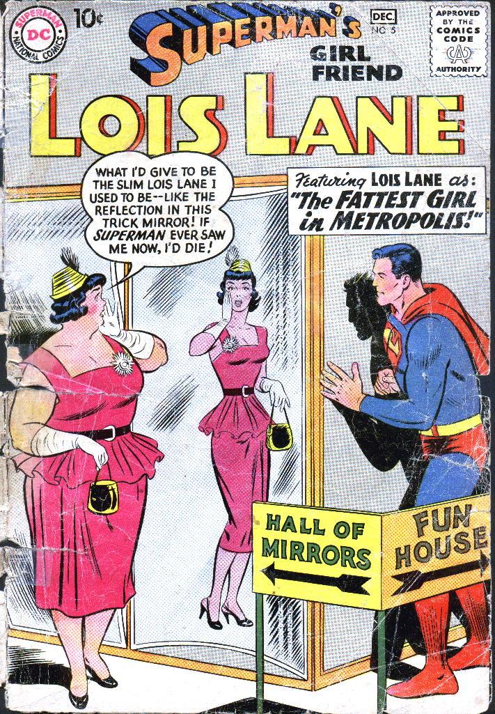 MEMÓRIA EM QUADRINHOS: O dia em que Lois Lane ficou megagorda