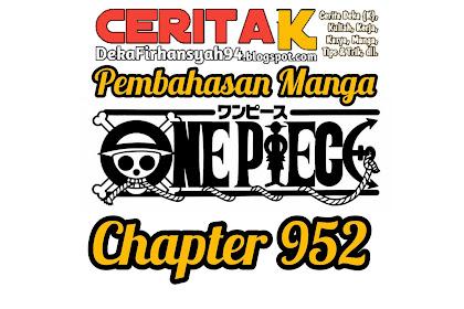 Manga One Piece Chapter 952