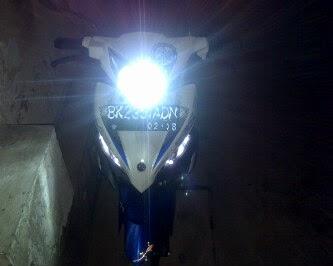Lampu HID Motor RAVEN 8000k