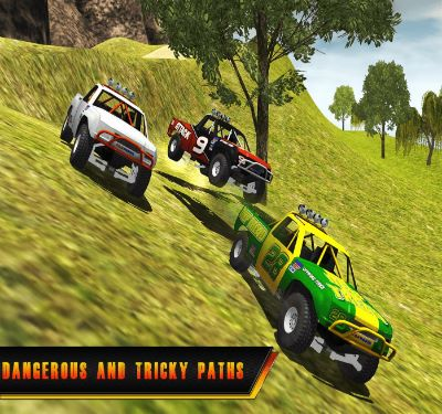 Uphill Jeep Rally