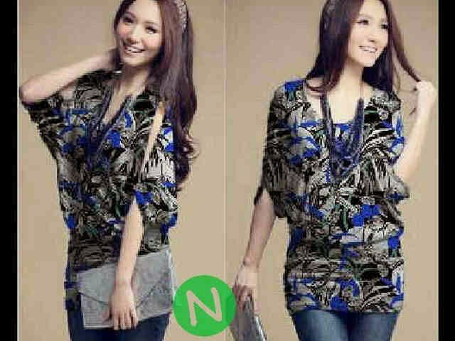 helena long blouse batwing mike spandek korea fit to L