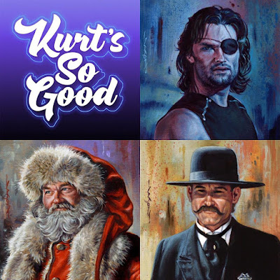 "Designer Con 2019 Exclusive ""Kurt's So Good"" Series 2 Print Set by Jason Edmiston"