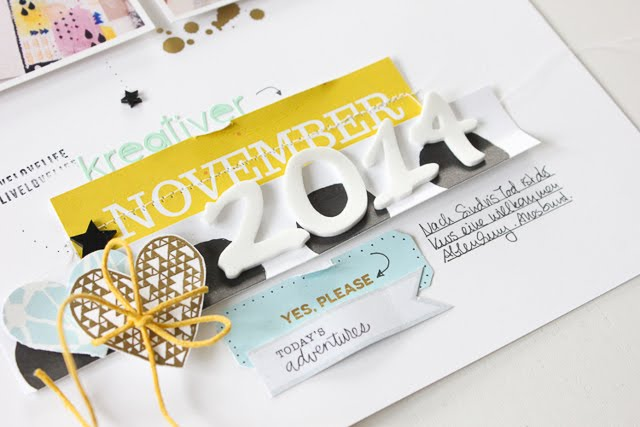 Scrapbooking Layout | Ashley Goldberg | Janna Werner