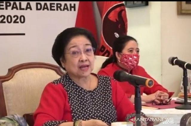 Kelabakan Lihat Gelombang Demo UU Cipta Kerja, Megawati Minta PDIP Waspada