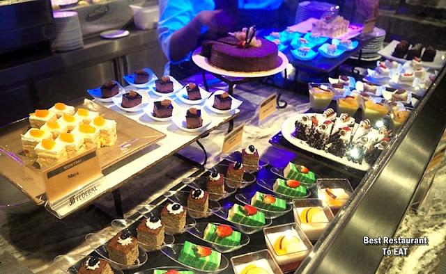 Kontiki Buffet Menu - Desserts and Cakes