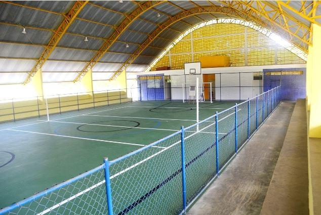 Quadra coberta do Arapongal é inaugurada em Registro-SP