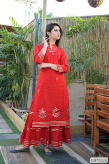 Special Rayon Solid With Embroidery Palazzo Sets
