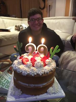 Jesse's Strawberry Shortcake Birthday Cake