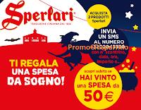 Logo Sperlari ''Una spesa da sogno'': vinci 85 buoni spesa da 50€