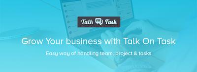 talk on task