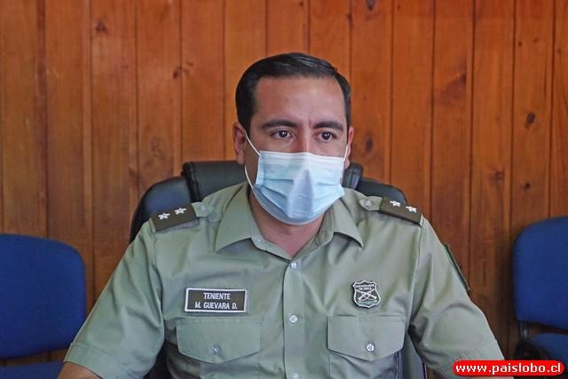 Teniente Matías Guevara
