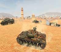لعبة الحرب الاستراتيجية عالم الدبابات الغارة World of Tanks Blitz