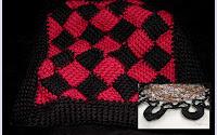 Entrelac Tunisian Crochet