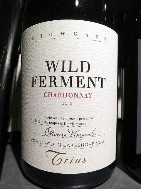 Trius Showcase Wild Ferment Chardonnay 2015 (92 pts)