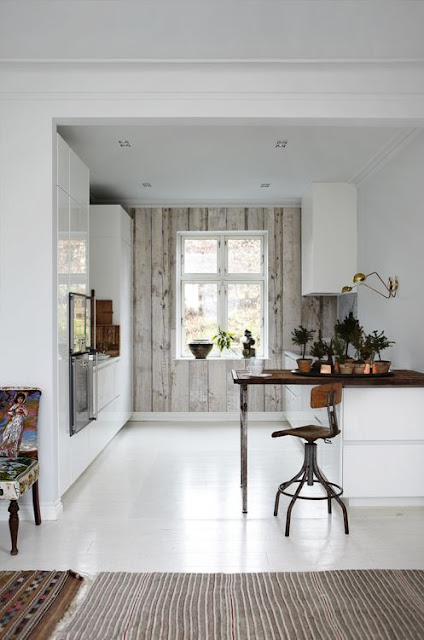 Rustic modern farmhouse slow living organic kitchen - found on Hello Lovely Studio