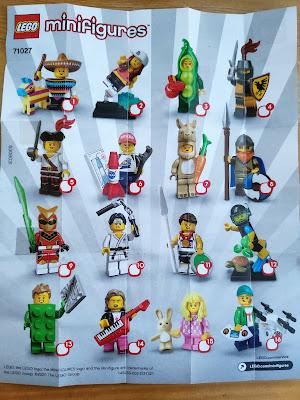 Minifigura lego serie 20