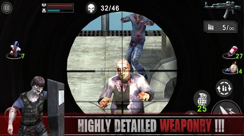 Download Zombie Frontier Sniper MOD APK 2