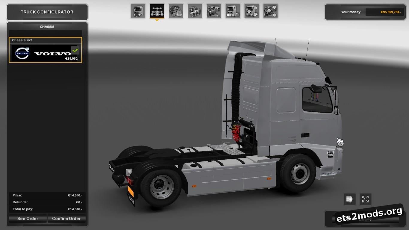 Truck - Iranian Volvo FH13 480