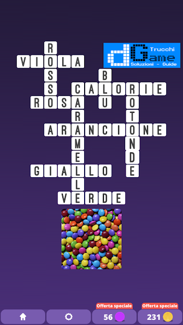 Soluzioni One Clue Crossword livello 15 schemi 4 (Cruciverba illustrato)  | Parole e foto