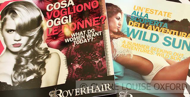 Roverhair, Prodotti professionali per capelli | Preview