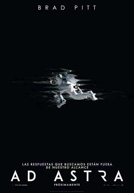 'AD ASTRA', tráiler, Brad Pitt, Tommy Lee Jones, Ruth Negga y Donald Sutherland, póster